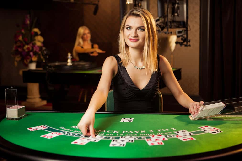 blackjack female dealer